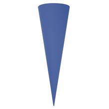 Schultütenrohling, 70 cm, m.blau