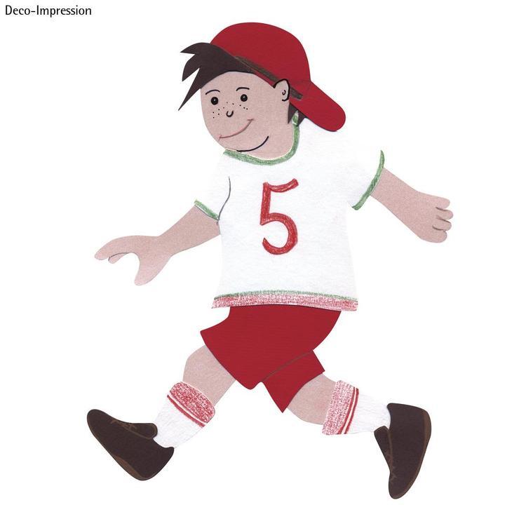 Bastelset Schultüten-Verzierung, Motiv Fußball