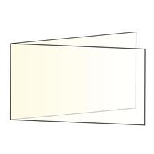 Einlegekarten quer,FSC Mix Credit, 336x116mm, 102g/m2, Beutel 5Stück, elfenbein