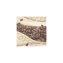 Servietten, 33x33 cm, Packung 20 Stück, Kaffee