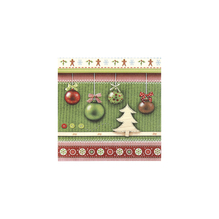 Serv. Joy Christmas,FSC Mix Credit, 33x33cm, Beutel 20Stück