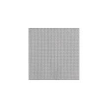 Serv. geprägt, Webmuster,FSC MixCredit, 33x33cm, Beutel 15Stück, silber