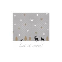 Serviette Let it Snow!, 33x33cm, Beutel 20Stück