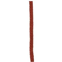 Kunsthaar-Puppenzopf, SB-Btl. 25 cm, rotbraun