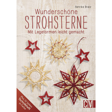 Buch: Wunderschöne Strohsterne, nur in deutscher Sprache