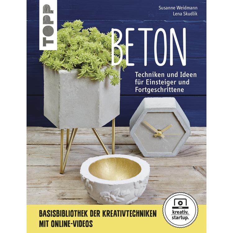 Buch: Beton, nur in deutscher Sprache