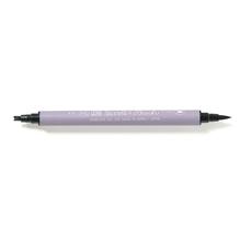 Kalligraphie-Stift Pinsel- + Doppellinie, SB-Btl. 1 Stück, schwarz