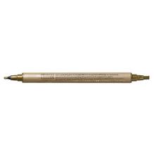 Kalligraphie-Stift Metallic, 2+3,5 mm, SB-Btl. 1 Stück, gold