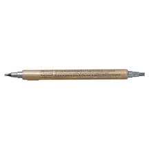 Kalligraphie-Stift Metallic, 2+3,5 mm, SB-Btl. 1 Stück, silber