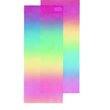 Laternenzuschnitte, 22x51 cm, Regenbogenfarben