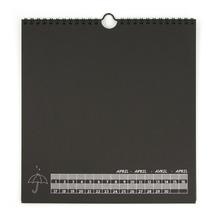 Dauerkalender mit Spiralbindung, 23x24 cm, 13 Blatt