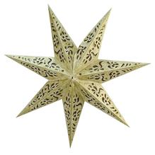 Papier-Set 7-spitziger Stern, 45 cm, inkl. Protektor für evtl. Beleuchtung