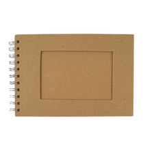 Album mit Passpartoutstanzung, QF, Rechteck, Din A5, 30 Bogen, 190 g/m2