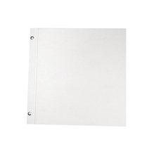 Album, weiß, geschraubt, 30,5x30,5 cm, 190g, 25 Bögen