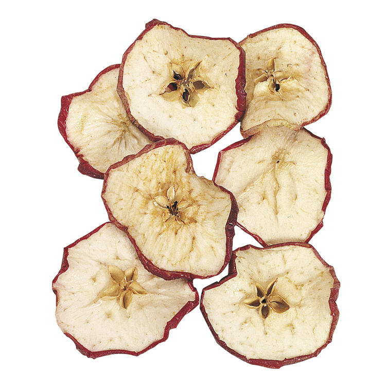 Apfelscheiben, getrocknet, SB-Btl. 25 g