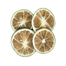 Orangenscheiben, getrocknet, grün, SB-Btl. 25 g