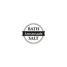 Stempel Bath Salt -homemade-, 3cm ø