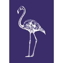 Schablone Flamingo, DIN A5, 1 Schabl.+1 Rakel im SB-Btl.