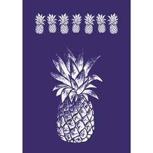 Schablone Ananas, DIN A4, 1 Schabl. + Rakel, SB-Btl 1Stück
