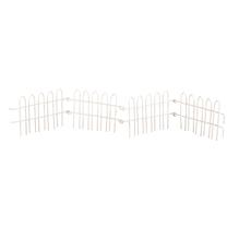 Steckzaun, 40x5,8cm, SB-Btl 1Stück, weiß