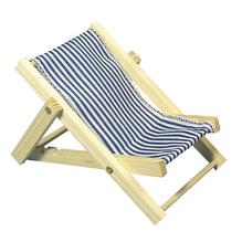 Holz-Sonnenliege, 14cm, SB-Btl 1Stück, royalblau