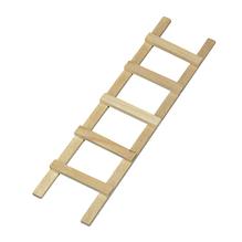 Holzleiter, 13,5cm, 5 Sprossen, SB-Btl 1Stück