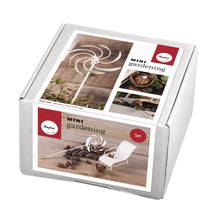 Mini-Gardening Set- Relax, 6-teilig, weiß, Karton