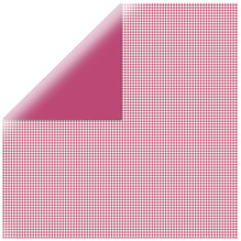 Scrapbookingpapier kariert, 30,5x30,5cm, 190g/m2, red magma
