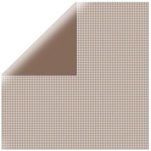 Scrapbookingpapier kariert, 30,5x30,5cm, 190g/m2, schokolade