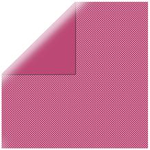 Scrapbookingpapier gepunktet, 30,5x30,5cm, 190g/m2, red magma