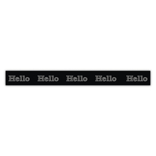 Washi Tape Hello, 15mm, Rolle 15m