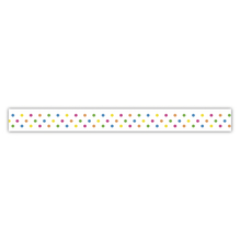Washi Tape Konfetti, 15mm, Rolle 15m