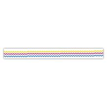 Washi Tape Bunt gezackt, 15mm, Rolle 15m