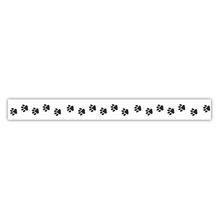 Washi Tape Pfotenabdrücke, 15mm, Rolle 15m