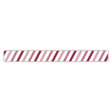Washi Tape Dicke Balken schräg, 15mm, Rolle 15m
