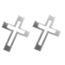 Acrylspiegel-Klebemotiv selbstklebend, SB-Btl. 4 Stück, Stärke 1 mm, 3x2 cm, Kreuze