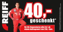 40 Euro Rabatt auf Autoservice-Leistungen