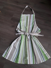 Küchen- Schürze 'Sommer-Stripes'