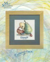 Stickpackung - Bild 15x15cm - Geburt - gezählter Kreuzstich - Maus