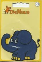 Applikationen - Patches - zum Aufbügeln - Der Elefant