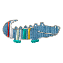 Applikationen - Patches - zum Aufbügeln - Krokodil