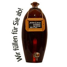 'Alter Laux Williams' Spirituose 40% vol, in verschiedenen Flaschenformen und Mengen!