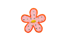 Applikationen - Patches - zum Aufbügeln - Blume Organza