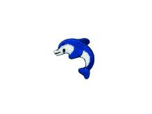 Applikationen - Patches - zum Aufbügeln - Delphin