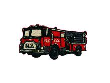 Applikationen - Patches - zum Aufbügeln - Feuerwehrauto