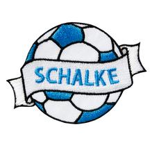Applikationen - Patches - zum Aufbügeln - Fußball Schalke
