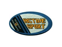 Applikationen - Patches - zum Aufbügeln - Actice Sport