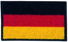 Applikationen - Patches - zum Aufbügeln - Deutschland Flagge