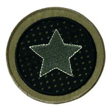 Applikationen - Patches - zum Aufbügeln - Sternen Patch rund