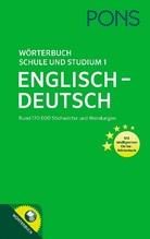 PONS Wörterbuch für Schule und Studium Englisch. Bd.1